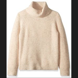 J. Crew knit turtleneck sweater pullover xs preppy